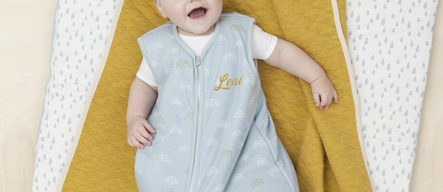 Babyschlafsack mit Namen